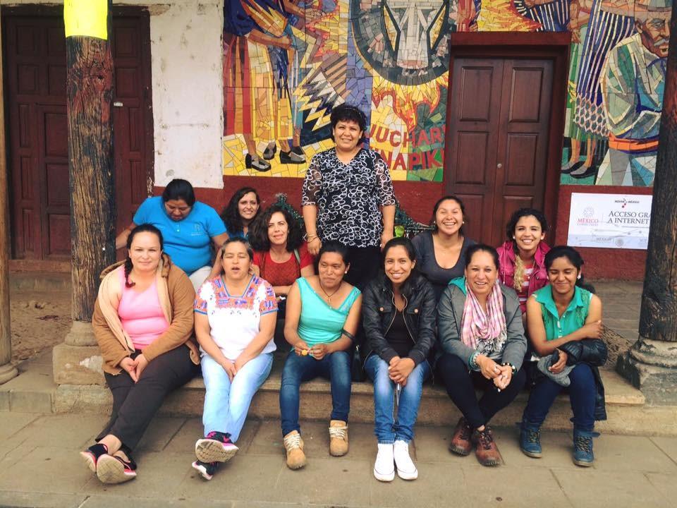 Trabajamos en México por la integración laboral de las artesanas purépechas